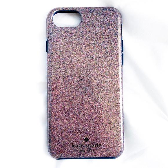 Kate Spade I Phone 8 Glitter Case